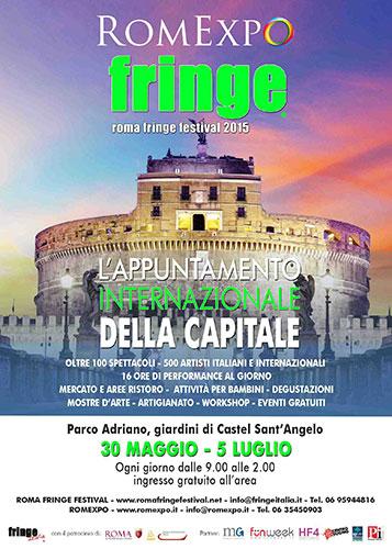 RomExpo – Roma Fringe Festival al via