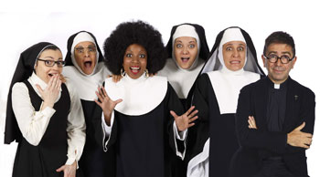 Sister act, il Musical in scena al Teatro Brancaccio di Roma