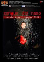 Sangue dal naso, lo spettacolo della compagnia Teatro delle condizioni delle avverse, in scena al Teatro Bertolt Brecht di Formia