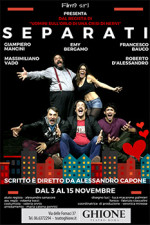 Separati, la commedia in scena al Teatro Ghione di Roma