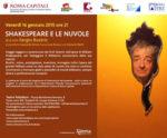 Shakespeare e le nuvole di e con Sergio Bustric al Teatro Plladium di Roma