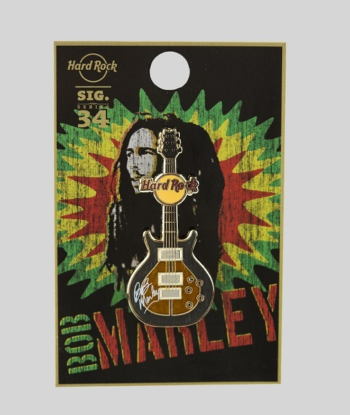 La nuova signature series di Hard Rock International è firmata Bob Marley