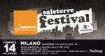 Soleterre Festival, al via la seconda edizione all'Alcatraz di Milano
