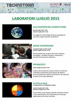 Technotown, tra scienza e arte. Tanti e imperdibili appuntamenti nella ludoteca tecnico scientifica di Villa Torlonia di Roma