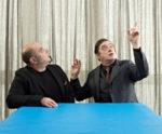 Teho Teardo e Blixa Bargeld in concerto sotto ai riflettori del Parco di Villa Ada di Roma