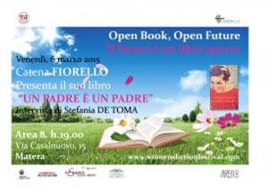 Un padre è un padre, il libro di Catena Fiorello. La presentazione del romanzo a Matera