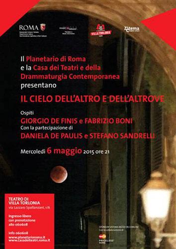 Una serata con l'astronomo al chiaro di Luna nella splendida cornice del Teatro di Villa Torlonia