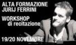 Workshop condotto da Jurij Ferrini