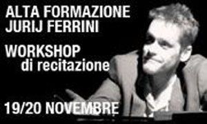 Workshop condotto da Jurij Ferrini