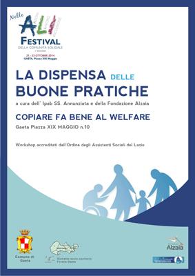 Festival Ali, La dispensa delle buone pratiche copiare fa bene al Welfare