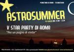 Per un pugno di stelle. Al via la quinta edizione dello Star Party al Planetario di Roma