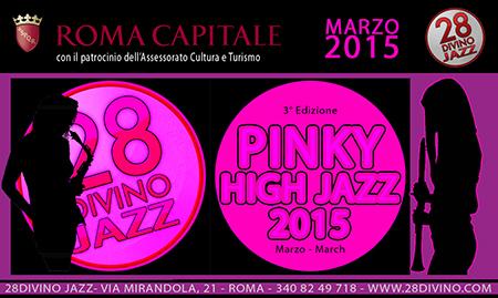 Pinky High Jazz 2015, al via la terza edizione della rassegna