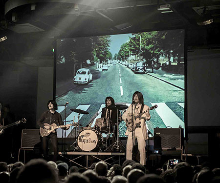 BeatleStory. The Fabulous Tribute Show Tour. Il più grande Tribute Show sui Beatles mai realizzato in Italia