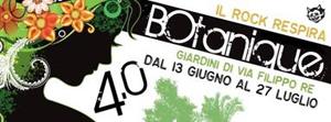 I suoni elettronici di MEG al BOtanique 4.0 di Bologna