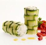Cannoli con zucchine e ricotta