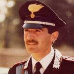 Una corona d'alloro per celebrare il Capitano Mario d'Aleo, Comandante della Compagnia di Monreale, ucciso dalla mafia