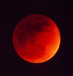 La Luna rossa, l'eclissi più attesa del 2011