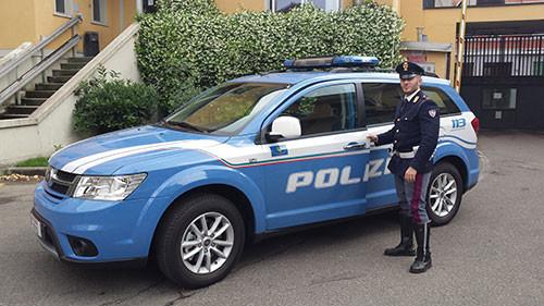 100 nuove Fiat Freemont per la Polizia Stradale. Le prime 25 consegnate a Milano