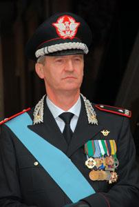 Consegna onorificenze ed encomi ai militari dell'arma della Legione Lazio