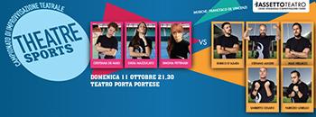 Il Campionato di Theatresports, la prima sfida al Teatro Porta Portese!