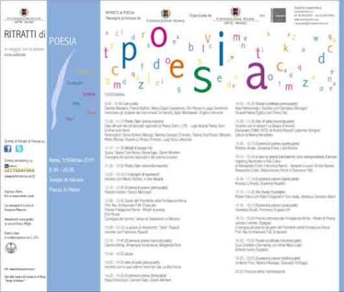 Ritratti di Poesia, c'è bisogno di poesia e di super eroi… dal Poetry Slam alla Street Art. Appuntamento a Roma al Tempio di Adriano, in Piazza di Pietra