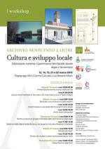 Cultura e sviluppo locale. Un workshop per valorizzare il patrimonio territoriale dopo il terremoto