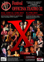 Festival Officina Teatro XI –  X edizione al Teatro Municipale Pasquale De Angelis – Teatro della Cometa