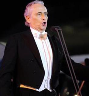 Il Maestro Jose'  Carreras a Josp Fest