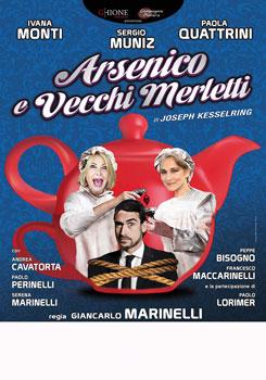 Arsenico e vecchi merletti al Teatro Ghione di Roma