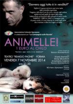 Animelle, 1 euro al kg, l'apertura della stagione ad abbonamento del Teatro Partecipato di Formia