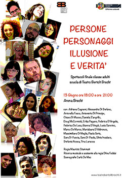 Persone personaggi illusione e verità lo spettacolo in scena al Teatro di via delle Terme romane di Formia