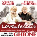 Love Letters lo spettacolo con Valeria Valeri in scena al Teatro Ghione di Roma