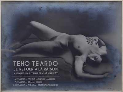 Teho Teardo – Man Ray, il tour a febbraio Torino, Roma Perugia
