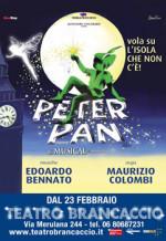 Peter Pan il musical al Teatro Brancaccio di Roma
