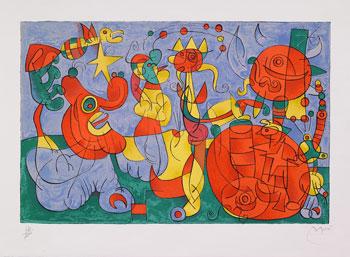 L'opera grafica di Joan Miró e i surrealisti in mostra al Marte