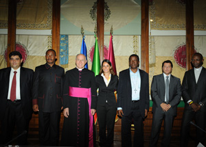 Firmato il protocollo d'intesa per l'arrivo in Italia di 10mila pellegrini dalla Nigeria