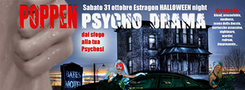 Psycho Drama. Il Party di Halloween all'Estragon di Bologna