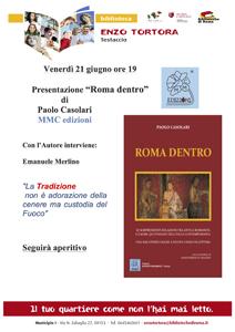 Roma dentro. Un saggio che svela legami tra Roma antica e quotidianità italiana