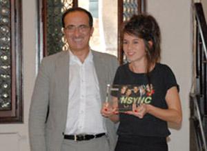 A Serena Vestrucci il Premio Stonefly Cammina con l'arte 2011