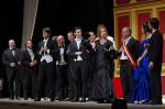 La vedova allegra. Operetta in 3 atti di Victor Léon e Léon Stein in scena al Teatro Brancaccio di Roma