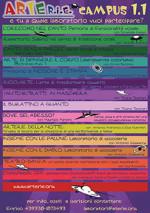 ARTEr.i.e. Campus 2015 – 14 proposte laboratoriali durante ARTEr.i.e. – Rassegna di Ipotesi espressive – 3, 4, 5, 6 Settembre 2015 – Cantalupo in Sabina