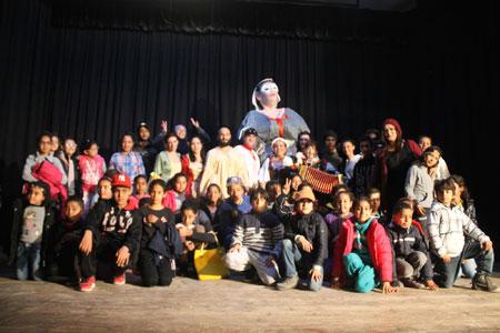 Il Teatro Bertolt Brecht di ritorno dalla Tunisia