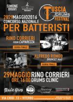 Tuscia Drums Festival, concorso nazionale per batteristi