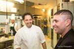 Osmani Garcia ospite di Niko Sinisgalli al ristorante Tazio per celebrare il World  Chain Day