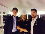 Gianluca Liguori brinda al successo al Boscolo Exedra