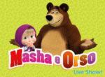 Masha e Orso Live Show al Conciliazione di Roma