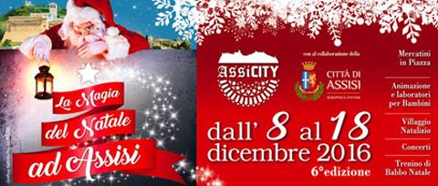 La Magia del Natale ad Assisi, al via la sesta edizione