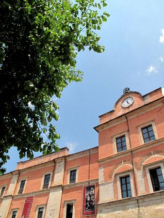 Progetto BLUEMED a Cosenza, Palazzo Arnone