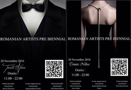 Romanian Artists PreBiennial, prima edizione