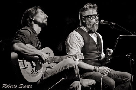 The MatchBox Duo in concerto all'Enoteca Giansanti